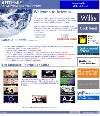 Artemis in the year 2004