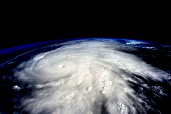 Hurricane Patricia seen from the International Space Station (ISS)