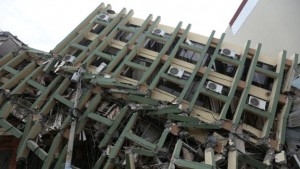 Ecuador earthquake picture from AFP via BBC