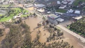 Forbes, New South Wales, Australia flooding