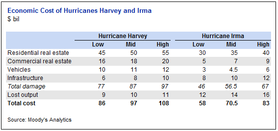 Irma Harvey economic loss