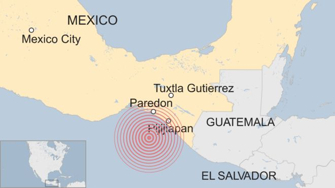 Death toll rises to 33 in Mexico quake