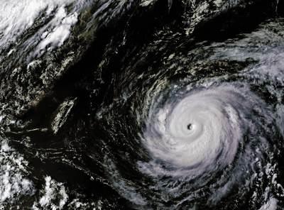Typhoon Maria satellite image