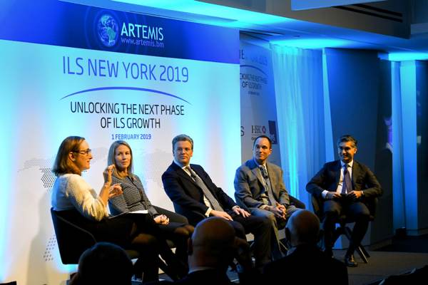 Artemis ILS NYC 2019 conference panel