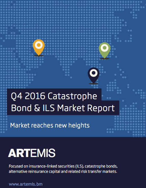 Q4 2016 Catastrophe Bond & ILS Market Report – Market reaches new heights