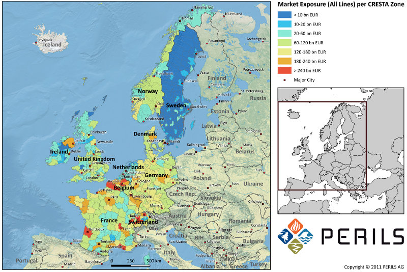 PERILS Exposure Map
