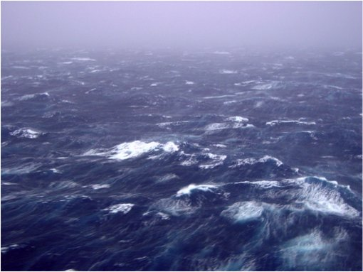 A look at the ocean sea state of Hurricane Isabel