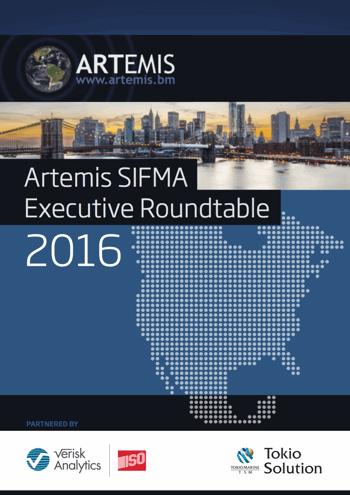 Artemis SIFMA IRLS Executive Roundtable 2016
