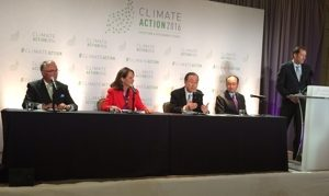 Insurance Development Forum Chair Stephen Catlin participating in a recent panel discussion