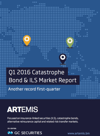Q1 2016 Catastrophe Bond & ILS Market Report