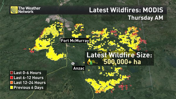 Fort Mcmurray Wildfire Map.Canada Fires Continue Set To Be Largest Insured Wildfire Loss Ever