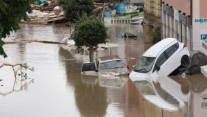 Bavaria flooding image via the BBC