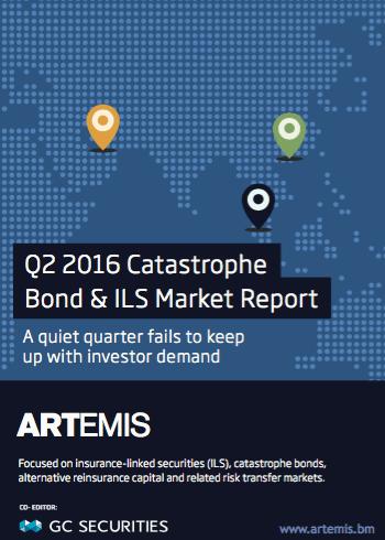 Q2 2016 Catastrophe Bond & ILS Market Report