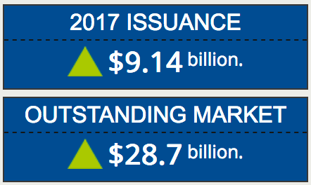 Cat bond market record issuance 2017