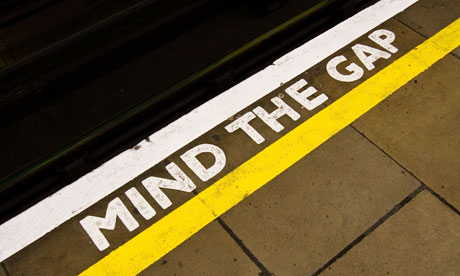 Mind the Gap sign (Source: Autoprotect)