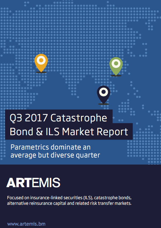 Q3 2017 Catastrophe Bond & ILS Market Report – Parametrics dominate an average but diverse quarter