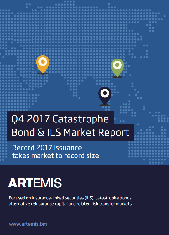 Q4 2017 Catastrophe Bond & ILS Market Report – Record 2017 issuance takes market to record size