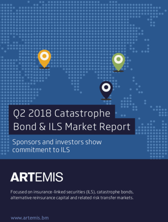 Q2 2018 Catastrophe Bond & ILS Market Report – Market buoyant despite 2017 catastrophes