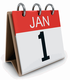 January 1st reinsurance renewal calendar image