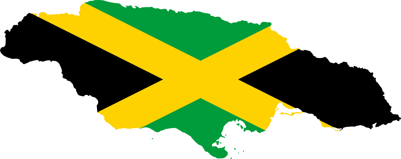 jamaica-flag-map