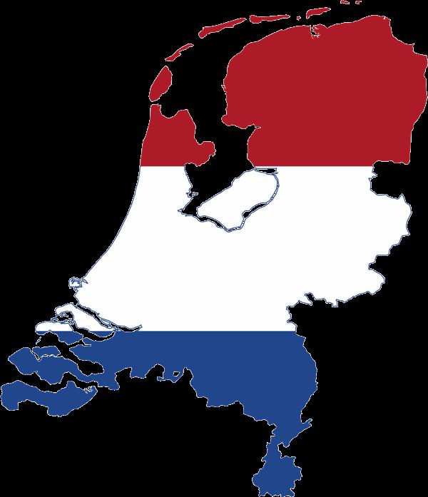 netherlands-flag-map