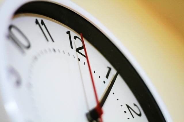 Time clock image