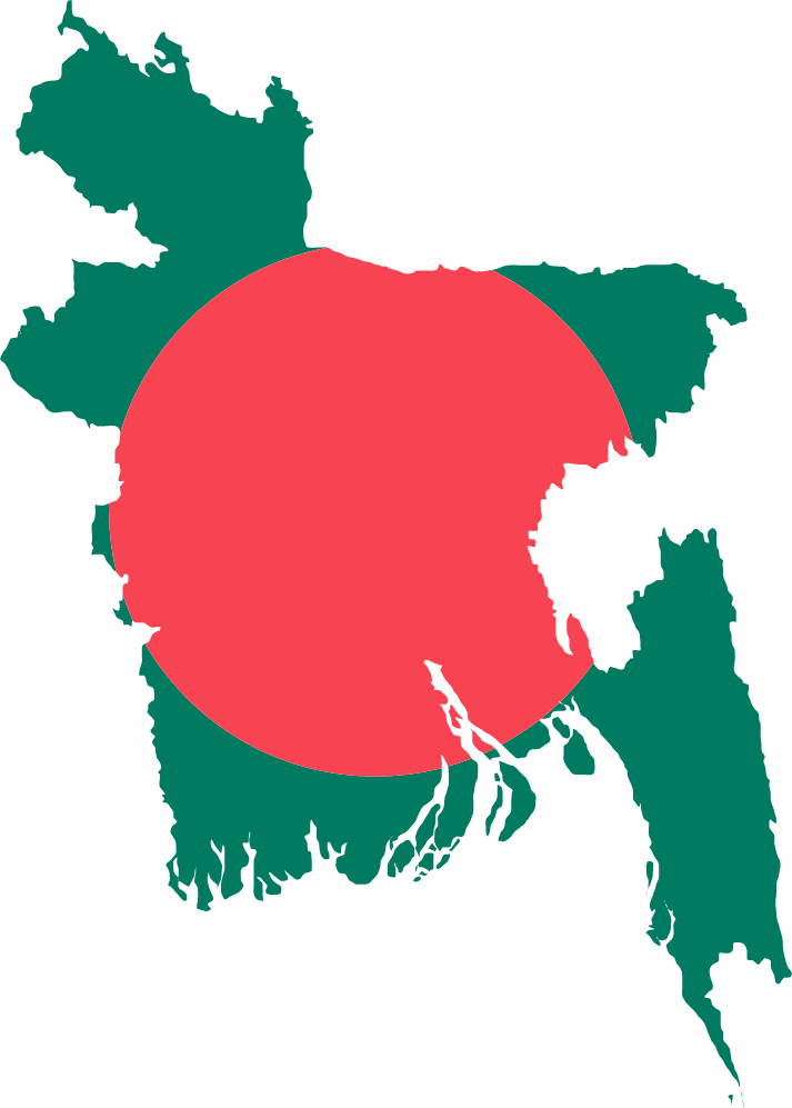 bangladesh-flag-map