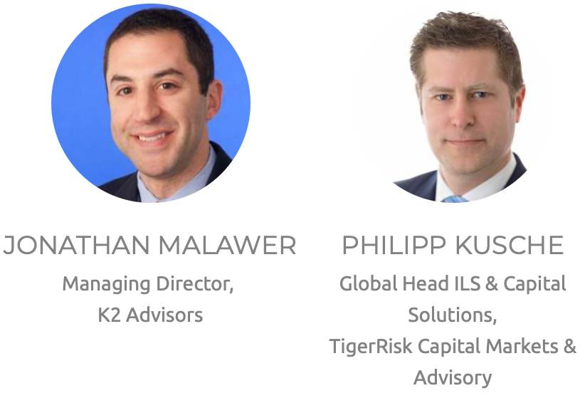 Artemis ILS NYC 2020 conference speakers, K2 Advisors, TigerRisk