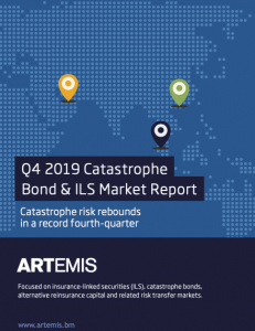 Artemis Q4 2019 Cat Bond and ILS Market Report