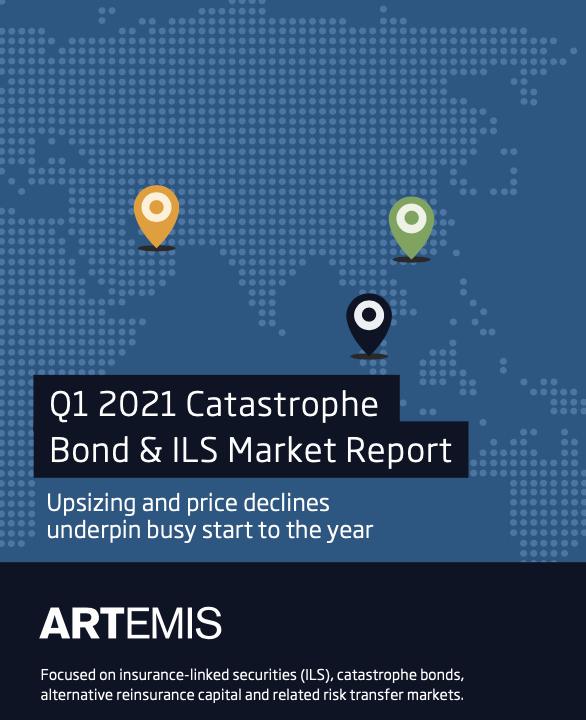 Q1 2021 catastrophe bond and ILS market report