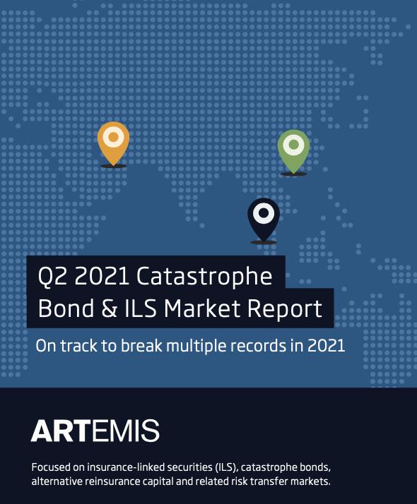 Q2 2021 catastrophe bond ILS market report