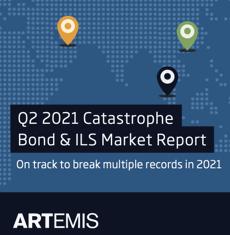 Q2 2021 catastrophe bond and ILS market report